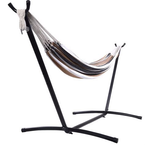 Portable Hammock Stand Hammock With Space Saving Steel Stand Includes