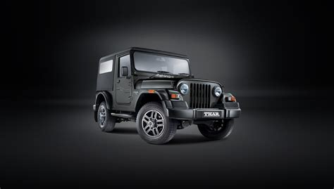 thar jeep white mahindra thar suv off roader suv in india