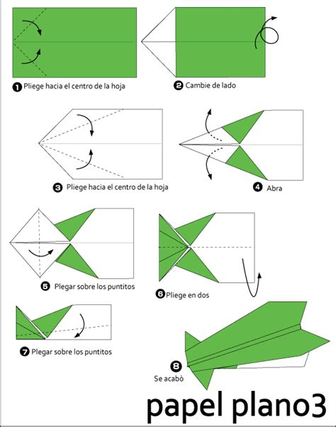 How To Make An Origami Paper Airplane - origami paper plane 3