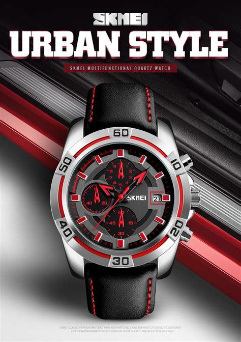 Jam Tangan Skmei Dg1251 skmei jam tangan analog pria 9156 blue