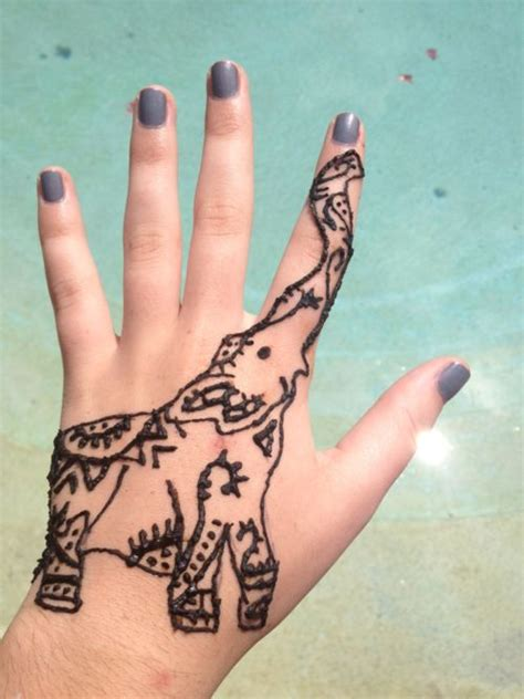 henna tattoo designs ideas 19 elephant henna tattoos