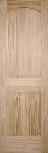 8 Panel Interior Wood Doors by Cheap 8 0 Quot 2 Panel Arch Pine Interior Wood Door Slab