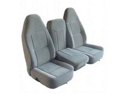 bench seat replacement express fabric 40 20 40 split bench seat chevy dodge ford replacement seats ebay