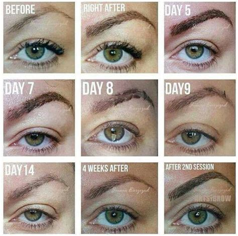 tattooed eyebrows healing process my experience with cosmetic tattooing the circular