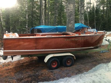 used boats for sale near duluth mn chris craft cavalier 1956 for sale for 13 000 boats