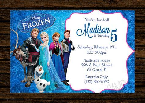 templates for frozen birthday invitations frozen birthday party invitations oxsvitation com