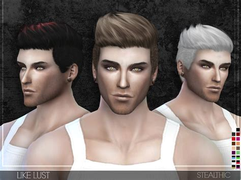 sims 4 male hairstyles stealthic like lust male hair
