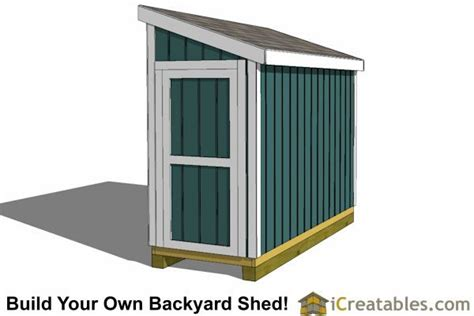 lean  shed plans  door small shed plans