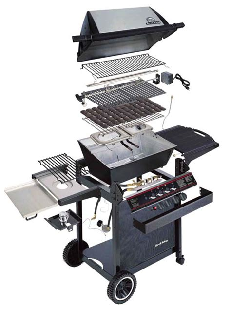 Backyard Grill Assembly by Barbecue Parts Barbecue Grill