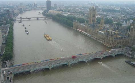 thames river history pollution this concept design of a bridge over the river thames in
