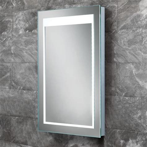 backlit bathroom mirrors uk hib liberty led backlit bathroom mirror w400 x h600mm