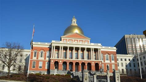 Massachusetts State House by Massachusetts State House At American Gallery