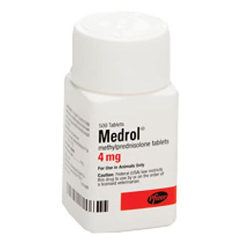 medrol methylprednisolone 4mg per tabs manufacture may vary