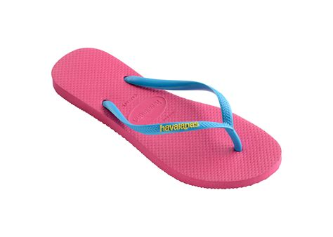 Br Sandal Ribbon Pink havaianas pink flip flops havaianas slim logo orchid