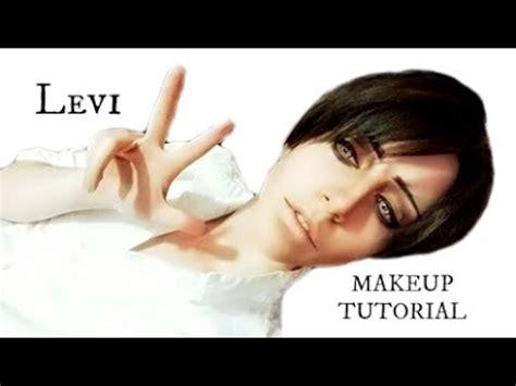 levi makeup tutorial makeup tutorial levi ackerman youtube