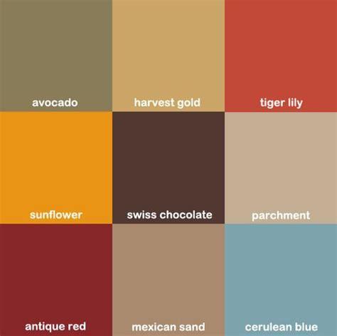 60s colors best 25 70s kitchen ideas on 70s decor