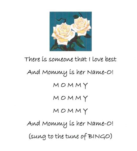 mothers day song s day song