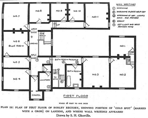 haunted mansion floor plan rectory first floor plan