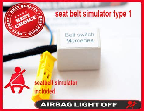 airbag deployment 2004 mercedes benz cl class seat position control mercedes cls seat sensor w219 passenger airbag occupancy child recognition sensor emulator