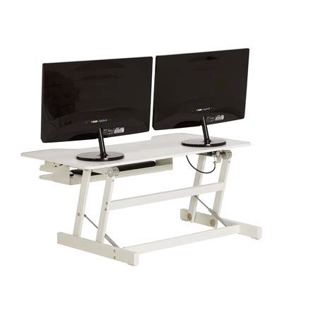 portable standing desk amazon officeworks standing desk wynston sit stand desk