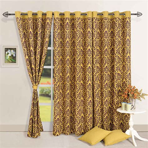 mustard colored drapes mustard fantasy door curtain online shopping