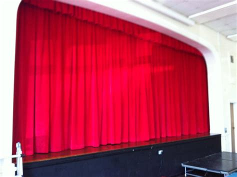 school stage curtains l m curtains and blinds our work