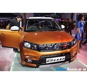 Suzuki Unveils Vitara Brezza In India 13L Diesel Engine