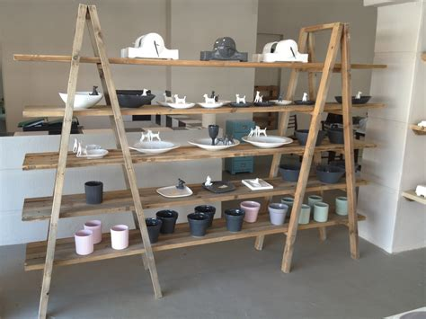Trestle Shelf Unit by Shelves Christie Custom Furniture