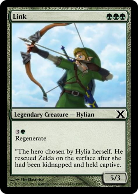 how to make a magic the gathering card link magic the gathering card by theblastoise on deviantart