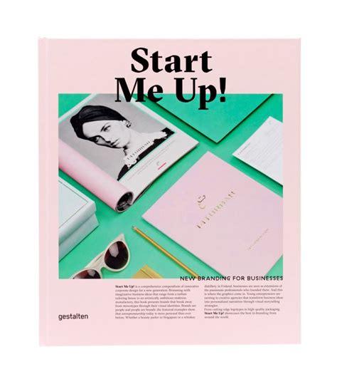 start me up new branding for businesses slanted typo weblog und magazin