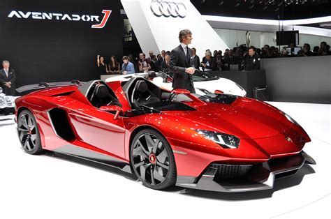 Lamborghini Aventador J is beautifully bonkers   Autoblog