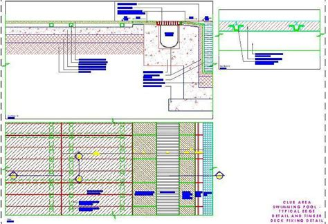 Bathroom Tile Design Software swimming pool typical edge detail and timber deck fixing