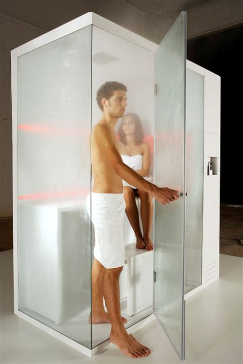 Compact Shower Cubicle Offers Dry Sauna Steam Bath And Showers Cubicles In Small Bathroom