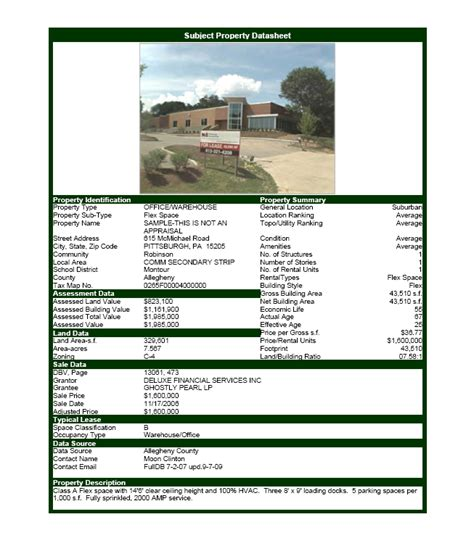 real estate listing sheet template commercial real estate software property datasheet