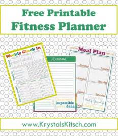 Essential Kitchen Knives free fitness journal meal planning printables