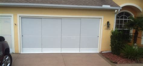 Sliding Garage Door Sliding Garage Screen Doors Garage Screen Enclosures