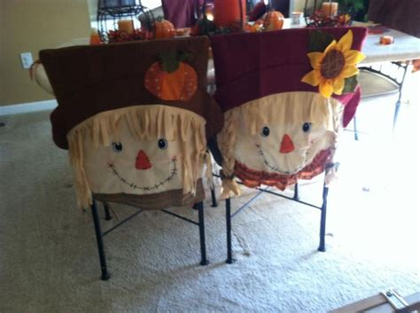 Fall Chair Covers by Fall Chair Covers Decorating Fall