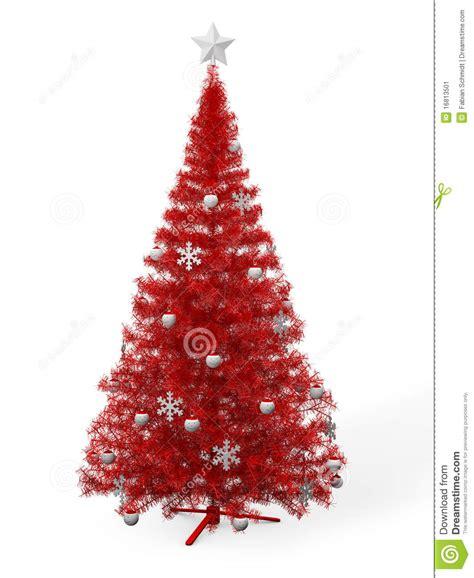 roter weihnachtsbaum stockbild bild 16813501