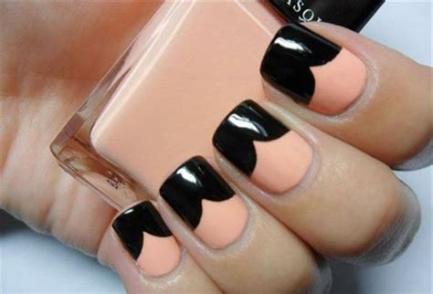 simple black nail designs supplies for beginners