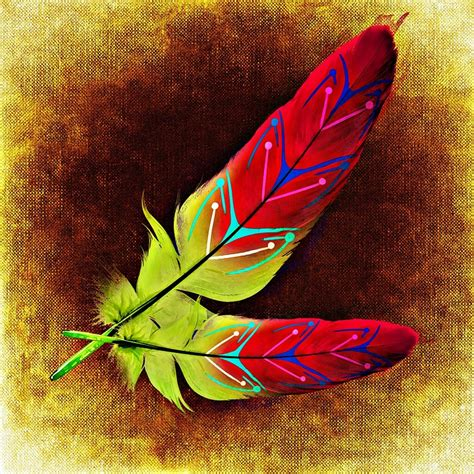 bird with colorful feathers free illustration feather bird feathers abstract free