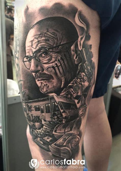 tattoo cost barcelona whalter white breaking bad tattoo magazine