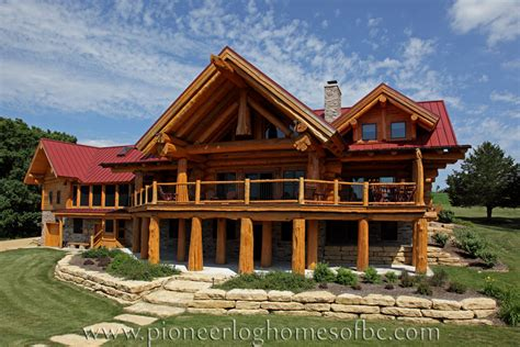 view our gallery of custom log homes here