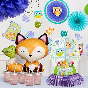 City Baby Shower Ideas by Woodland Baby Shower Ideas City