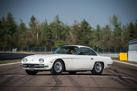 Lamborghini 350 Gt by Lamborghini 350 Gt Takes To The Track After One