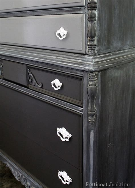 whitewash paint finish tutorial  painted furniture