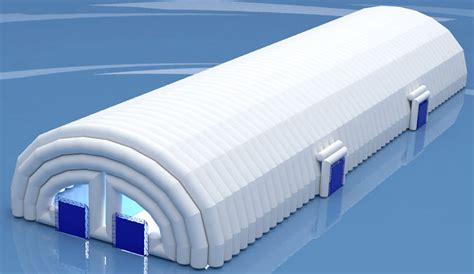 Awning For Mobile Home Pneumo Frame Inflatable Building