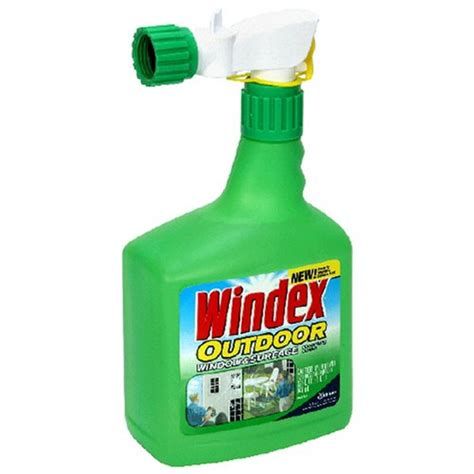 windex outdoor glass patio cleaner 32oz new ebay
