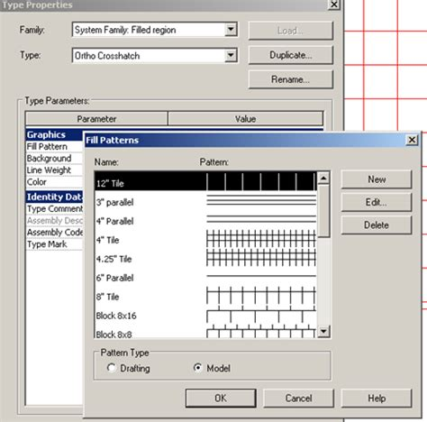 drafting pattern revit revitize another revit blog moving filled region entities