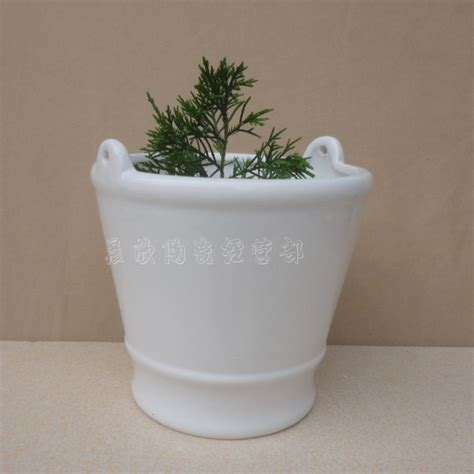 Ceramic Flower Planters by European White A Large Type Ceramic Flower Pot