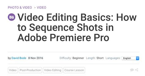 adobe premiere pro editing tips 21 insanely helpful adobe premiere tutorial options for